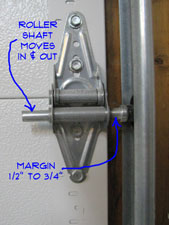 Garage Door Track Bracket adjusting garage door track | garage doors | doors | repair topics