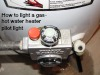 This article shows the basic steps to lighting a pilot light on your gas hot water heater.
