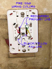 fixing phone jack wiring wiring electrical repair topics rh home repair central com old phone jack wiring old telephone jack wiring diagram