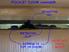 Removing Pocket Door Rollers Pocket Doors Interior Doors Doors