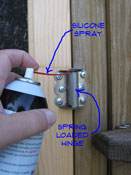 Fixing A Screen Door Hinge Exterior Doors Doors