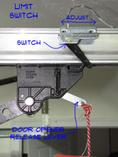 Adjusting Garage Door Limit    Switches      Garage Doors