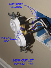 How To Install An Outlet Receptacles Electrical Repair