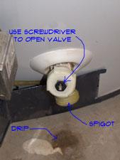 Leaking Water Heater Drain Valve | Water Heaters | Plumbing