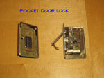 A Standard Pocket Door Lock