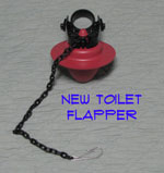 New Toilet Flapper