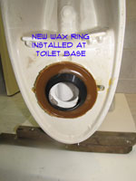 Toilet Leaking At Base Toilets Plumbing Repair Topics